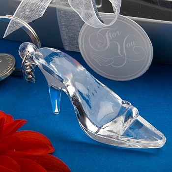 Cinderella Shoe Glass Slipper Keychain