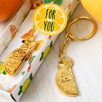 Citrus Key Chain Favors