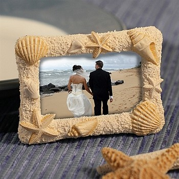Beach Theme Photo Frame and Placecard Holder