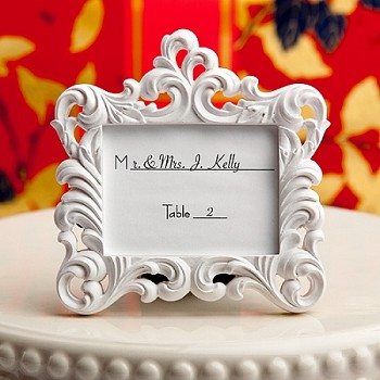 Baroque Style Placecard Frame