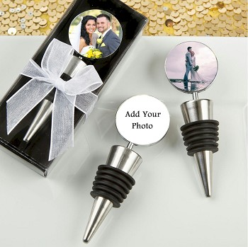 Perfectly Plain Wine Bottle Stopper Favors