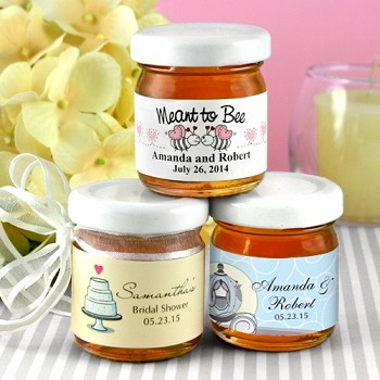 Personalized Honey Wedding Favors