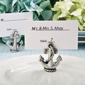 Nautical Anchor Place Card and Photo Holder