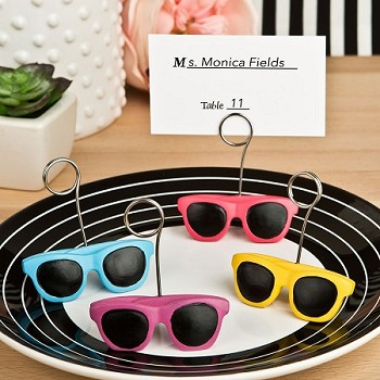 Sunglasses Design Placecard or Photo Holder