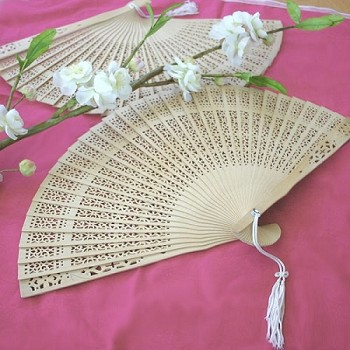 Folding Sandalwood Fan