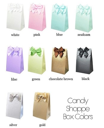 DIY Sweet Shoppe Candy Boxes (set of 12)