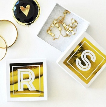 Monogram Jewelry Gift Boxes (set of 6)