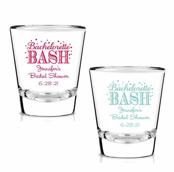 Bachelorette Bash Personalized Shot Glasses (1.75 oz)
