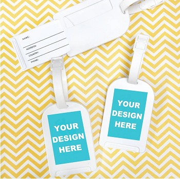 Custom Design Personalized Luggage Tags