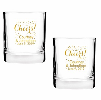 Cheers Personalized Shot Glasses (2 oz)