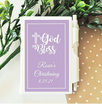 God Bless Personalized Notebook Travel Journal